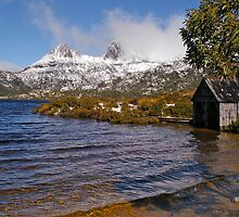 Boat House - Cradle Mountain by Paul Gilbert
