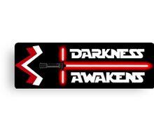 Darkness Awakens Canvas Print