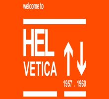 Helvetica Typography Arrows Kids Clothes