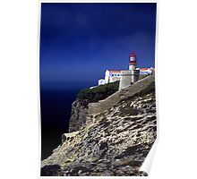 Algarve Lighthouse Poster