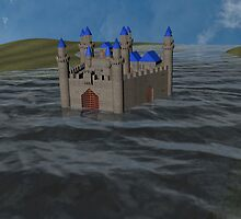 Water Castle by littlebelldesig