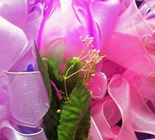 flower and ribbons by kristal ingersoll