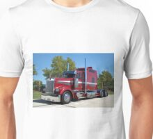 Kenworth Semi Truck with Custom Sleeper Unisex T-Shirt