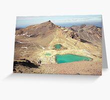 SULFUR LAKES Greeting Card