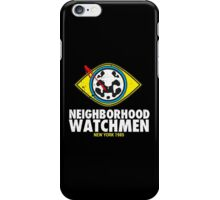 Neighborhood Watchmen iPhone Case/Skin