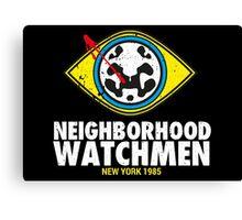 Neighborhood Watchmen Canvas Print