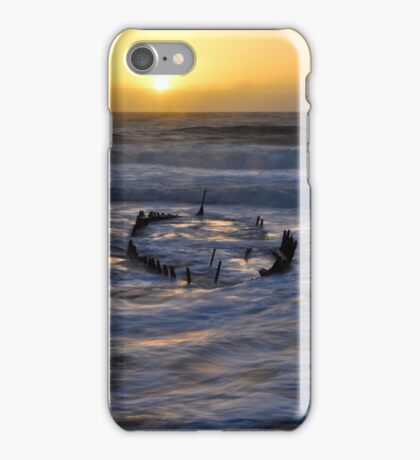SS Dicky at sunrise iPhone Case/Skin