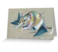 Zelda the rat Greeting Card
