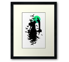 Fiddlesticks Crows Framed Print
