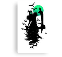 Fiddlesticks Crows Canvas Print