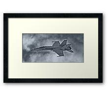 Aussie FA-18 Framed Print