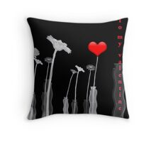 Be my Valentine! Throw Pillow