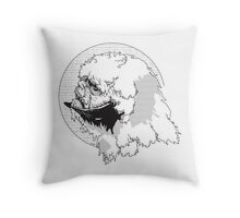 The Beast from The Ice Planet Throw Pillow