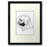 The Beast from The Ice Planet Framed Print