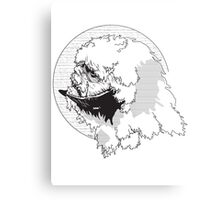 The Beast from The Ice Planet Metal Print