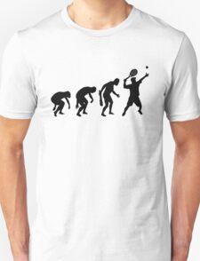 EVOLUTION OF TENNIS T-SHIRT ON LITE Unisex T-Shirt