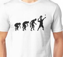 EVOLUTION OF TENNIS T-SHIRT ON LITE Unisex T-Shirt