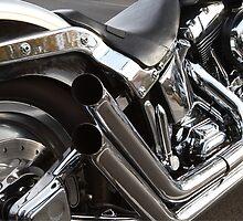Harley detail by Michael Findlay