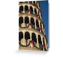 Leaning Tower of USA 2 Greeting Card