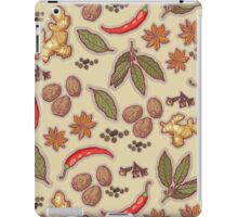 warming spices iPad Case/Skin