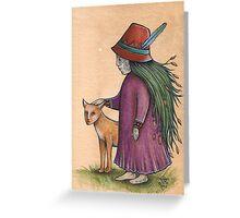 Hedge Dweller (Card) Greeting Card