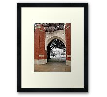 Time Travel Framed Print