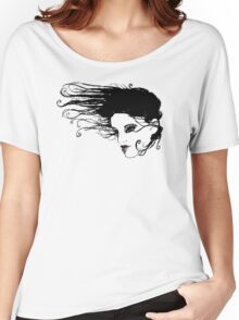Floating Hair Women's Relaxed Fit T-Shirt