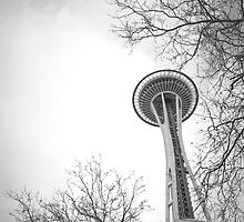 Space Needle by Simon Bennett