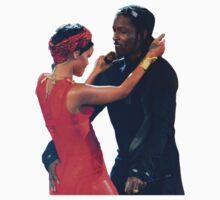 A$AP Rocky & Rihanna by asapmithu