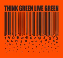 THINK GREEN LIVE GREEN Kids Clothes