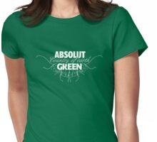 "ABSOLUT GREEN ""Country of earth"" Womens Fitted T-Shirt"