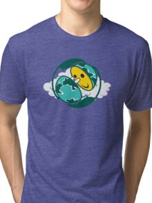 Happy Hour *earth hour project Tri-blend T-Shirt