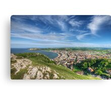 Great Orme View Canvas Print