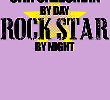 CAR SALESMAN by day ROCK STAR by night by inkedcreatively