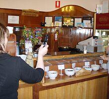 SNAP - doubly caught sampling at the chocolate factory, Latrobe, Tasmania by gaylene