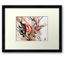 Amaterasu Okami Framed Print