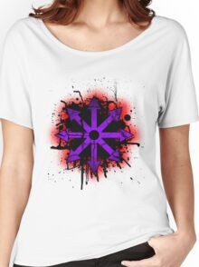 Choas symbol 1 Women's Relaxed Fit T-Shirt