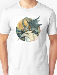 Seagull Dragon Unisex T-Shirt
