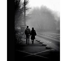 { early morning walk } Photographic Print
