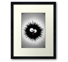Funny Ink Splat Cartoon  Framed Print
