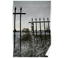 Broken Fence : Photography by Alys Griffiths Poster