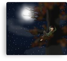 Hiccup - October Canvas Print