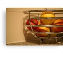 Apples : Photography by Alys Griffiths Canvas Print