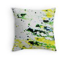 Splat attack  Throw Pillow