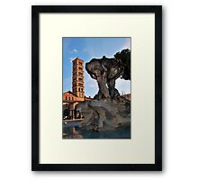 Fontana dei Tritoni Framed Print