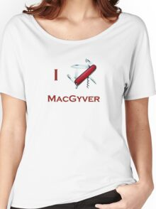 Macgyver 1 Women's Relaxed Fit T-Shirt