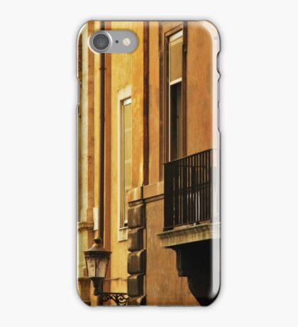 Orange Walls of Rome iPhone Case/Skin