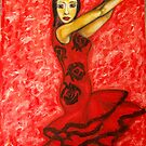 Famenco Dancer by Lydia Cafarella