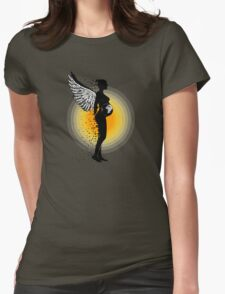 Mother Earth Womens Fitted T-Shirt