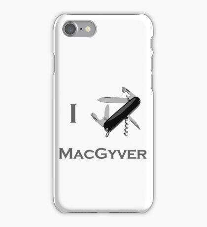Macgyver 2 iPhone Case/Skin